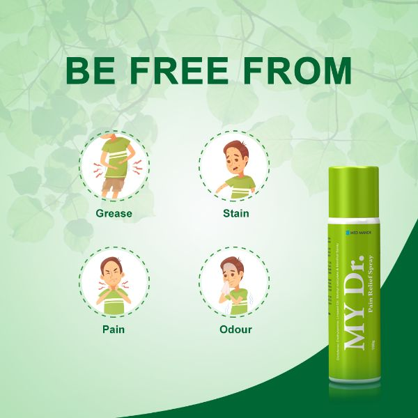 be free from all kinds of body pains with my dr spray