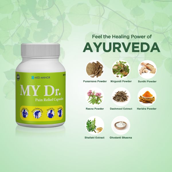 feel the healing power of ayurveda with my dr capsules