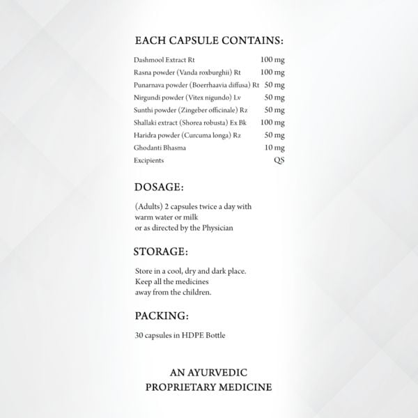 capsules product composition
