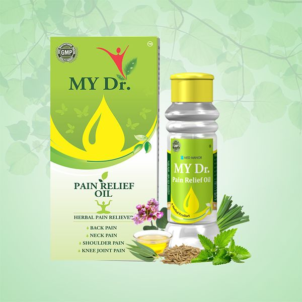 my dr pain relief oil product pack