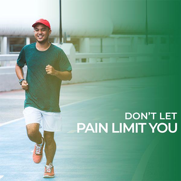 product - don't let pain limit you
