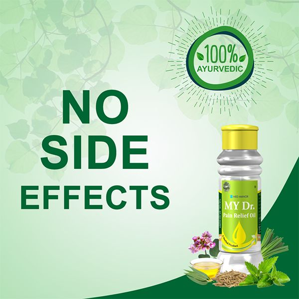 no side effects with my dr oil
