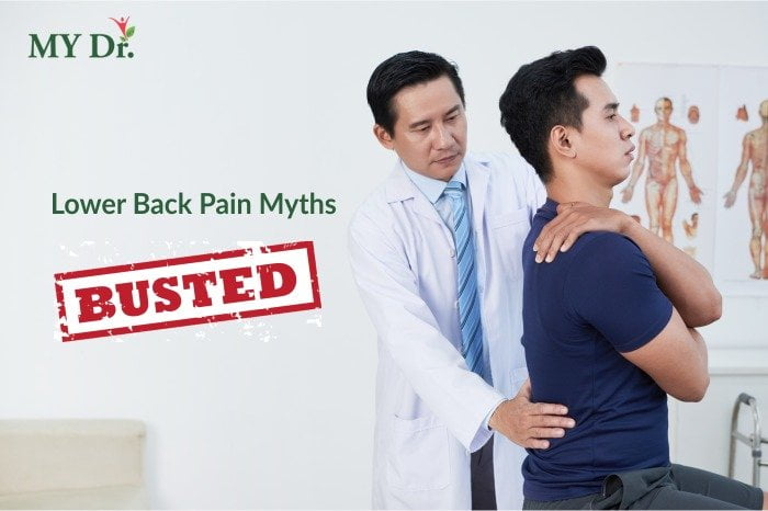 lower back pain myths