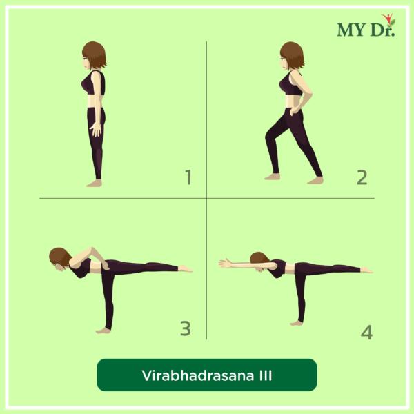 How-to-perform-Virabhadrasana 3