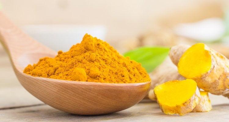 Turmeric root and powder