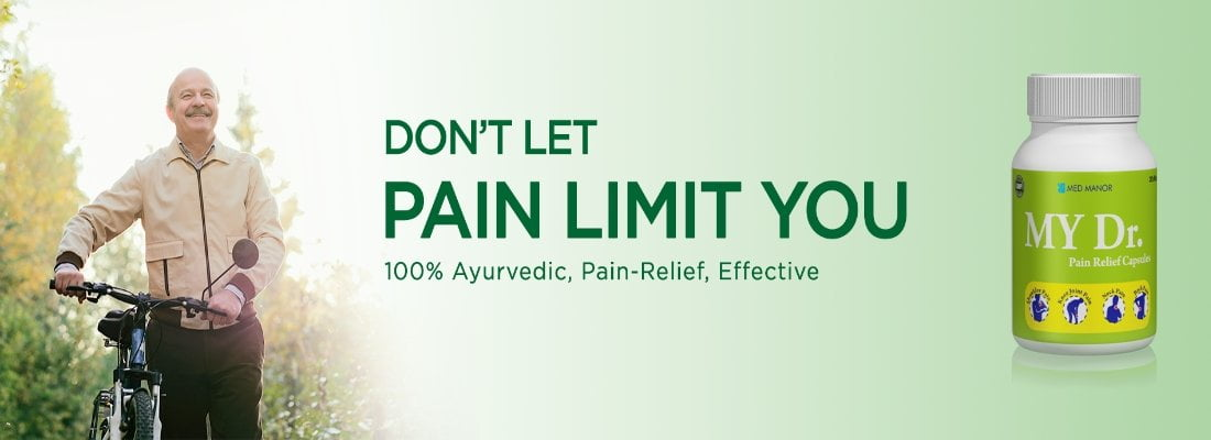 pain relief capsules - don't let pain limit you image