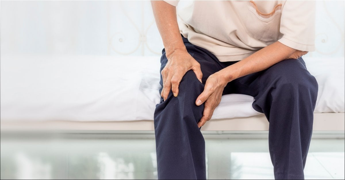 Knee pain because of bad joints