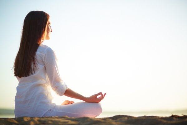 woman doing Yoga for health